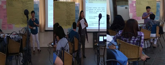 Regional Training of Trainers (ToT) on GAD