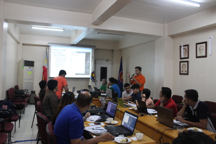 RPMC IV-A's Tourism Infrastructure Mapping Workshop