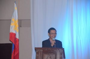 Dir. Luis G. Banua, Regional Director of NEDA Region IV-A welcomes the participants