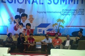 Panel of Resource Persons answer questions during the Talakayan  in Ambisyon Natin 2040 Calabarzon Regional Summit