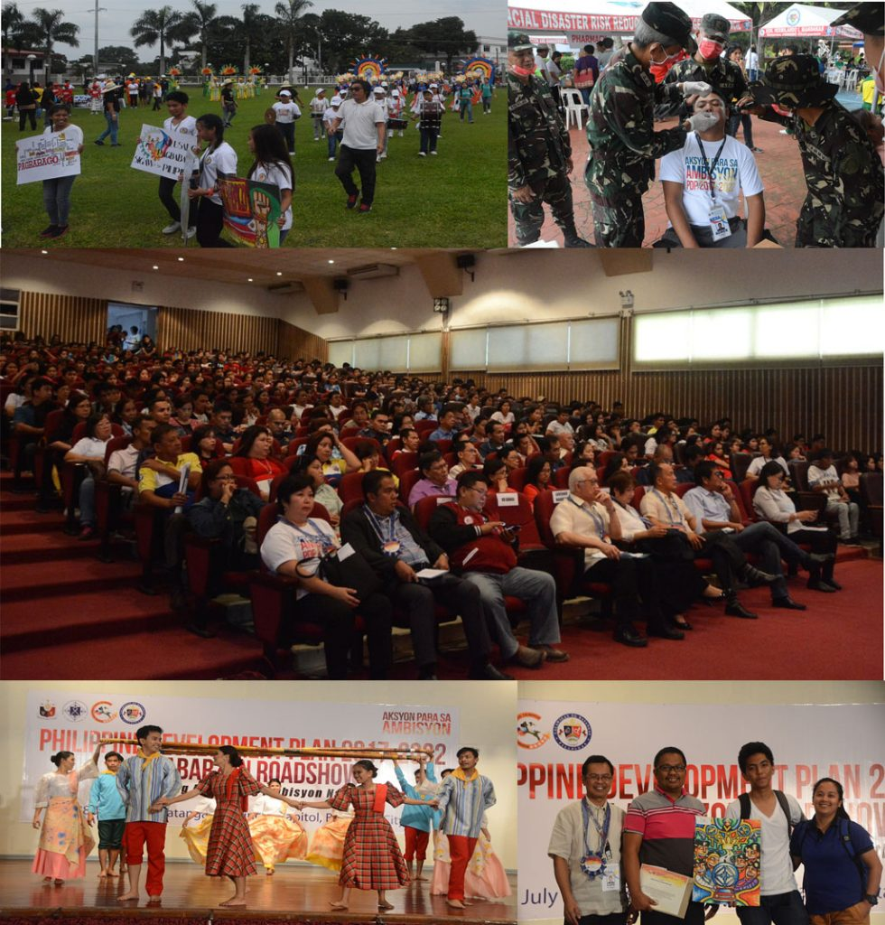 Activities during the PDP Calabarzon Roadshow